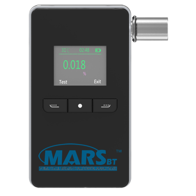Alcohol tester breathalyzer mars bt