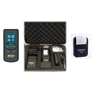 Alcohol tester breathalyzer MercuryKit