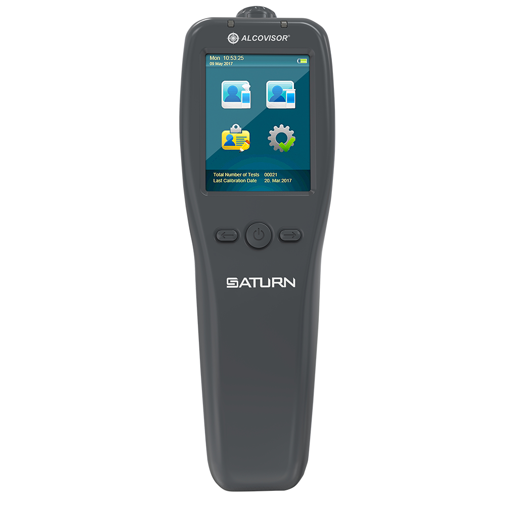 Alcohol tester breathalyzer saturn